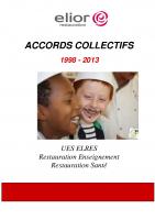 Book des accords signés à Août 2013