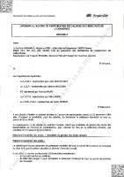 Avenant N°3 participation – Signé le 16/11/2010