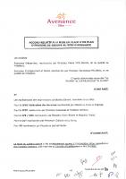 Accord PEG Avenance Fevrier 2010