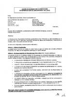 Accord révision des éléments fixes rémunération encadrement 2011 2012