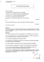Accord relatif aux congés