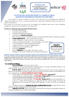 Tract – accord anticipé d'adaptation